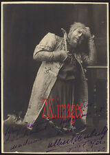 ALBERT HUBERTY Leveque Opera  Autographe Photo 1930