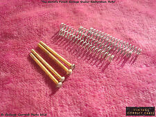 Vintage Gibson 1959 Gold PAF Pickup Mounting Screws and springs 1958 ES-355 LPC