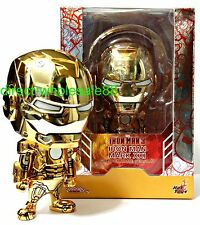 Hot Toys iron Man Mark XXI Gold Chrome Version Cosbaby Marvel