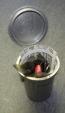 Mülltonne mit Zeitung, Folie u. Dose Puppenstube 1:12 Maße 3x5 cm