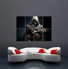 ASSASSINS CREED 4 BLACK FLAG XBOX ONE PS4 PS3 GAME PC GIANT PRINT POSTER OZ1033