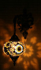 Multicolour Turkish Moroccan Style Mosaic Wall Sconce Light Large Globe New Type