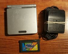 Gameboy Advance SP with Wario Ware Inc and charger