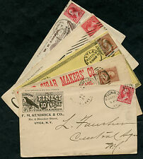 (5) DIFFERENT CIGAR ADVERTISING COVERS BQ208