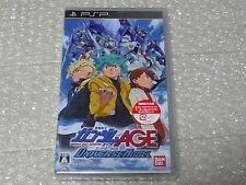 "NEW!! PSP Gamesoft ""GUNDAM AGE UNIVERSAL ACCEL"" Japan import Free Shipping"
