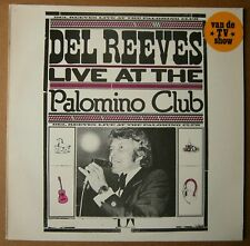 LP DEL REEVES LIVE AT THE PALOMINO CLUB DUTCH UA  NM 1974