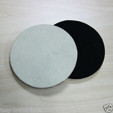 """2PC 5"""" 125mm Wool Polishing Buffing Pad For Glass Metal Multi-Surface Paintwork"""