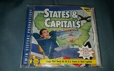 States & Capitals  Twin Sisters Productions Music CD (No book)