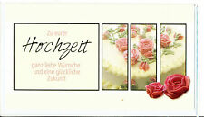 Hochzeitskarten Hochzeitskarte,die gute Karte, kleiner Geldumschlag liegt bei 4