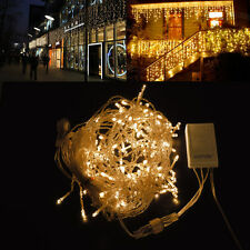 150 LED Fairy Curtain Icicle String Lights For Wedding Party Xmas Christmas