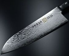 Japanese SETO ISEYA 33 Layers Damascus VG10 Santoku Kitchen Knife 180mm Japan G5