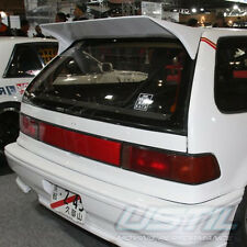 HONDA CIVIC 1988-1991 EF ED JDM JS RACING CHARGERSPEED LOOK TRUNK SPOILER WING