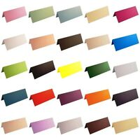 100 Blank Table Name Place Cards, Different Colours - Christmas, Parties Wedding