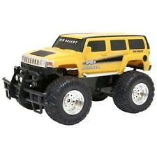 Hummer H3 jaune par New Bright 1:16 r/c ff-retail boxed