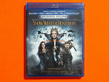 SNOW WHITE & THE HUNTSMAN Bluray + DVD **Brand New & Sealed**