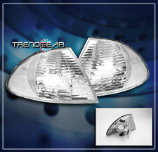 1999 2000 2001 BMW E46 3-SERIES 4DR SEDAN FRONT CORNER TURN SIGNAL LIGHTS CHROME