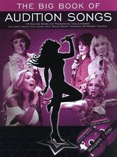 The Big Book of Audition Songs Female Singers Sheet Music 2CD Backing Tracks B21