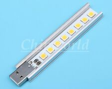 Mobile Power USB Night Licht Keyboard light 8pcs SMD LG 5152 LED Warm White DE
