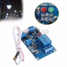 Relè DC 12V 15mA Photoresistor Relay Modulo Temporizzatore Timmer Light Sensore