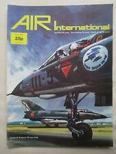 AIR INTERNATIONAL 7/74 SPANISH AIR POWER STUKA AVIA B-534 VIGGEN S-3A VIKING