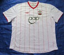 Saints SOUTHAMPTON FC away jersey by UMBRO 2012-2013 /men/white/ XXXL/ 3XL