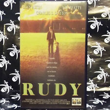 RUDY (David Anspaugh) VHS . Sean Astin, Ned Beatty, Charles S. Dutton, Lili Tayl