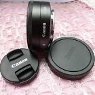 New Genuine Canon EOS M EF-M 22mm F/2 STM Prime Wide Angle Pancake Lens