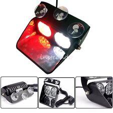 12V/24V High Power 8 LED Car Strobe Police Emergency Grille Flash Warning Lights