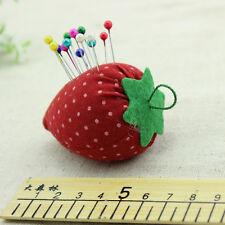 Home Craft DIY Sewing Kit Strawberry Style Needle Pin Holder Cushion Kit Gift