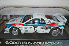 Kyosho 1/18 Lancia 037 Martini Racing Rally Tour De Corse 1984 No5   #08301A