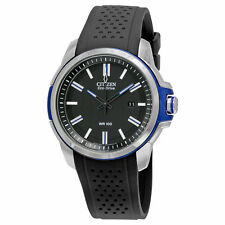 Citizen AW1151-04E Men's Eco DRIVE AR 2.0 Black Polyurethane Band Analog Watch