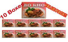 Vietnamese BO KHO SEASONING STEWED BEEF PREPARATION 4 CUBES  Lot of 10