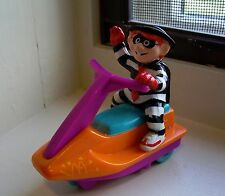 Fast Food Toy 1992 MC DONALD'S~HAMBURGLER ON A JET SKI