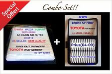 Prius 04-09 ENGINE & CABIN AIR FILTER AF5698 C35516 Perfect fit+fast free ship