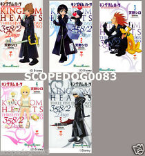 KINGDOM HEARTS 358/2 DAYS SHIRO AMANO JAPANESE ANIME MANGA BOOK SET VOL.1-5 F/S