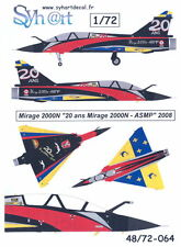"""Syhart Decals 1/72 French MIRAGE 2000N  """"20 YEARS OF MIRAGE 2000N ASMP"""" 2008"""