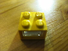LEGO 08010dc01 Electric, Light Brick 4.5V 3 Plug Holes Trans-Clear Diffuser Lens