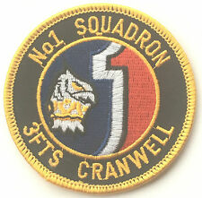 No.1 Squadron RAF Royal Air Force 3FTS OPS Cranwell Military Embroidered Patch