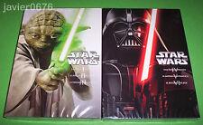 STAR WARS LA SAGA COMPLETA EPISODIOS I II III IV V VI EN DVD NUEVO Y PRECINTADO