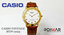 VINTAGE  CASIO COLLECTION CLASSIC MTP-1025 QW.1398 JAPAN Ø.34mm