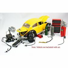 Die-cast Metal Car Garage Accessories 1:18 Scale by KinsFun NEW Diorama Kits NEW