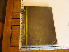 vintage book: Bound Sheet Music 1840's and such SO COOL