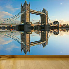 WALLPAPER TOWER BRIDGE LONDON THAMES UK WALL PAPER 300cm wide 240cm tall WMO035
