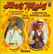 ★☆ CD SINGLE Johnny HALLYDAY L'histoire de Bonnie and Clyde  4-track CARD SLEEVE
