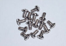 M6 Self-tapping Rack Mount Screw for Rack & cabinet, chrome 50 pcs