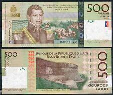 HAITI 500 Gourdes 2010   Pick 277   SC  /  UNC