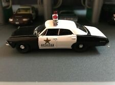 1967 Chevy Biscayne Police Car Clark County NV Sheriff  1/64 COLLECTIBLE MODEL