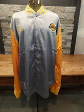 """Los Angeles Lakers Adidas Track Jacket On Court Warm Up Men's 3XL Length + 2"""""""