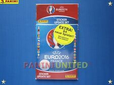 Panini★EURO 2016 EM 16★Update-Set - 84 Extra-Sticker neuer Spieler - OVP/sealed