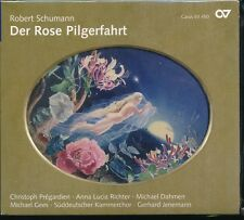 Robert Schumann Der Rose Pilgerfahrt CD NEW Christoph Pregardien Anna Richter